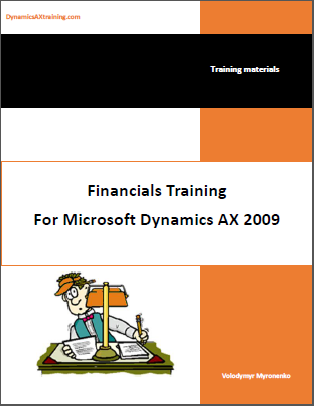 Dynamics AX Financials Training