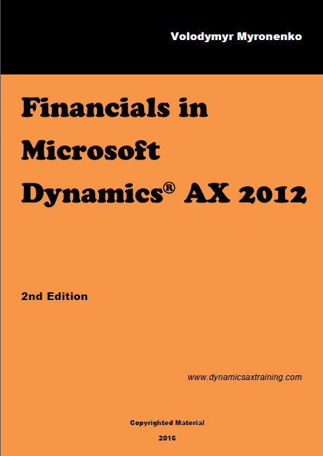 Dynamics AX 2012 Financials Training